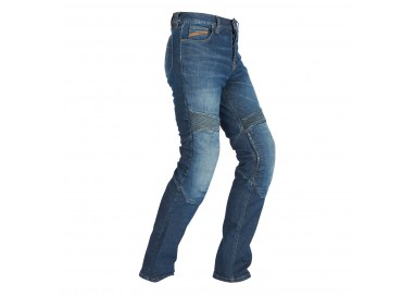 Men's STEED motorcycle jeans by FURYGAN with D3O protections Denim 1