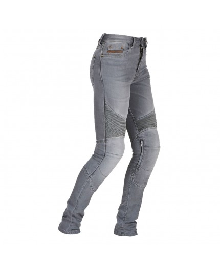Cowboy / motorcycle jean woman LADY PURDEY by FURYGAN with D3O Denim protections