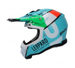 SHIRO LEOPARD OFF ROAD THUNDER III helmet 1