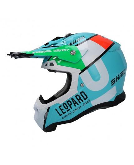 SHIRO LEOPARD OFF ROAD THUNDER III helmet