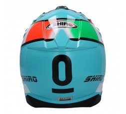 SHIRO LEOPARD OFF ROAD THUNDER III helmet 3