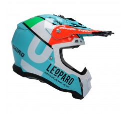 SHIRO LEOPARD OFF ROAD THUNDER III helmet 4