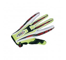 Guantes de moto MX-01 480 04 para OFF ROAD de SHIRO Amarillo