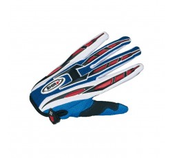 Guantes de moto MX-01 488 02 OFF ROAD de SHIRO Azul