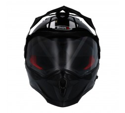 Full face helmet for Trail Off Road Dual Sport use by Shiro 2
