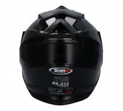Full face helmet for Trail Off Road Dual Sport use by Shiro 3