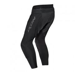 Pantalón de moto cuero hombre FALCON PT de Ixon negro vista de espalda