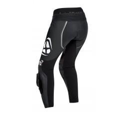 Pantalón moto de cuero mujer VORTEX LADY PT de Ixon negro vista de espalda