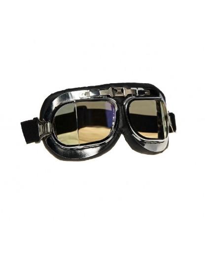 Gafas para casco abierto BAD BOY de SHIRO estilo Retro o Cafe Racer o Custom