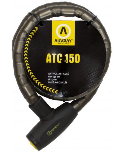 Antirrobo pitón blindado para dos ruedas ATC 150 de AUVRAY