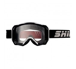 Gafas moto MX-903 PRO uso OFF ROAD de SHIRO color negro y blanco