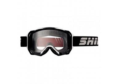 Gafas moto MX-903 PRO uso OFF ROAD de SHIRO color negro y blanco