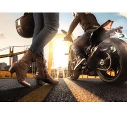 Ambiente botas de moto para mujer LADY LEONARDA de BERING