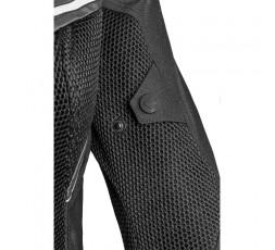 Blouson moto femme en textile et cuir combiné TRINITY de IXON détail 2