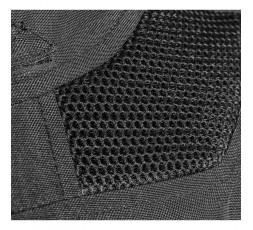 Blouson moto femme en textile et cuir combiné TRINITY de IXON détail 3