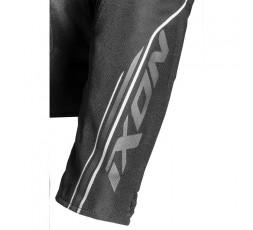 Blouson moto femme en textile et cuir combiné TRINITY de IXON détail 4