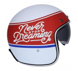Open face Helmet SH-235 Never Stop Dreaming by SHIRO 4