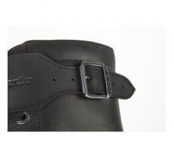 Botas de moto de cuero ROCKET WP de Stylmartin color negro detalle cierre