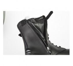 Botas de moto de cuero ROCKET WP de Stylmartin color negro detalle cremallera
