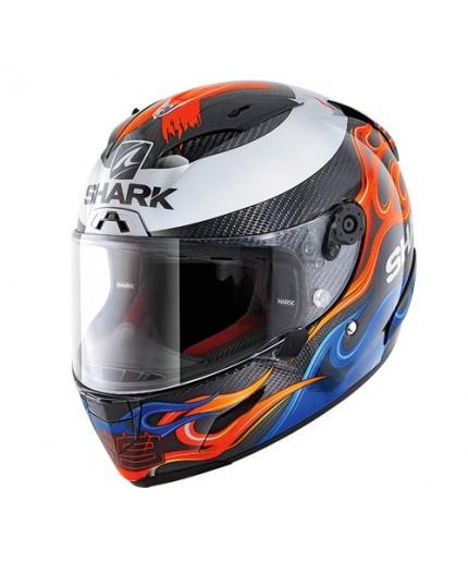 Casco integral RACE-R PRO CARBON Replica Lorenzo de Shark