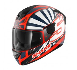 D-SKWAL 2 full face helmet replica of the pilot Zarco by Shark 1
