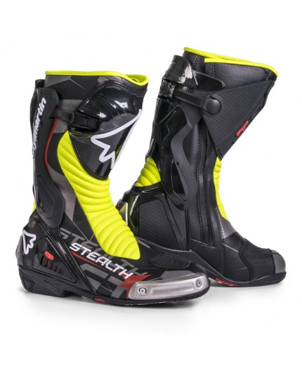 Botas moto para circuito o carretera deportiva STEALTH EVO de Stylmartin