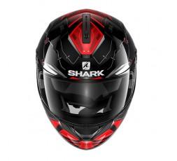Casco integral RIDILL MECCA de SHARK Rojo vista de frente