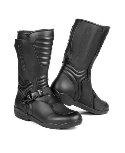 MILES motorcycle full-grain leather boots by Stylmartin