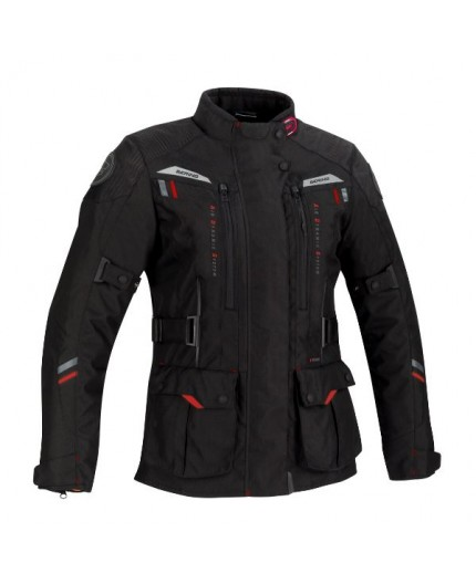 Women's motorcycle jacket for Touring, Adventure DARKO LADY by Bering