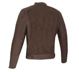 OSKAR Segura ultra-ventilated summer motorcycle jacket brown 2
