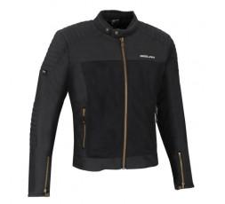 OSKAR Segura ultra-ventilated summer motorcycle jacket black 1