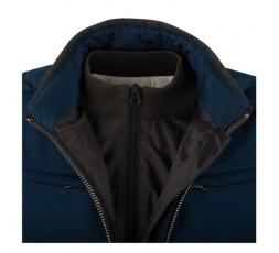 Woman motorcycle jacket LADY GARRISSON by Segura blue 4