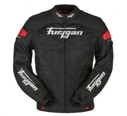 Chaqueta moto de verano ATOM VENTED de Furygan color rojo 1