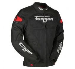 Chaqueta moto de verano ATOM VENTED de Furygan color rojo 2