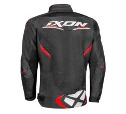 Chaqueta moto de verano ultra-ventilada DRACO de Ixon negro y rojo 2