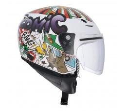 SH-20 COMIC II KIDS Jet Helmet for children by SHIRO 4