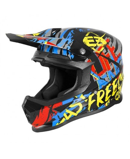Casco integral uso Off road, Motocross, MX, Enduro, Aventura XP4 MANIAC de Shot