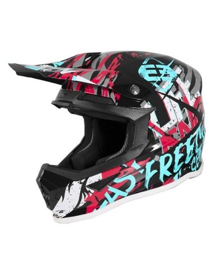 Casco integral uso Off road, Motocross, MX, Enduro, Aventura XP4 MANIAC de Shot