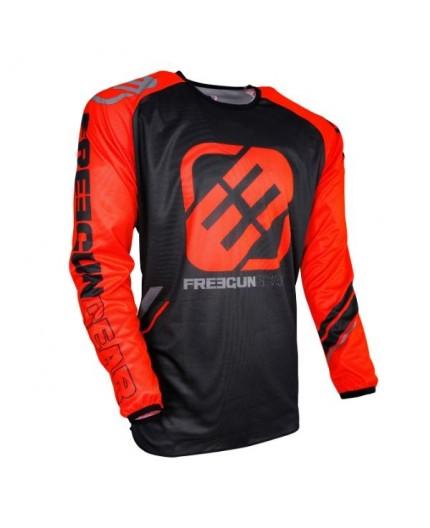 Camiseta moto para uso Off Road, Motorista, Enduro, Mx FREEGUN GEAR DEVO COLLEGE de Shot