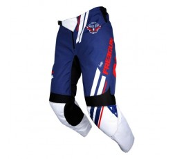 Pantalones moto uso Off Road, Motocross, Enduro, MX FREEGUN GEAR DEVO COLLEGE de Shot azul y rojo 2