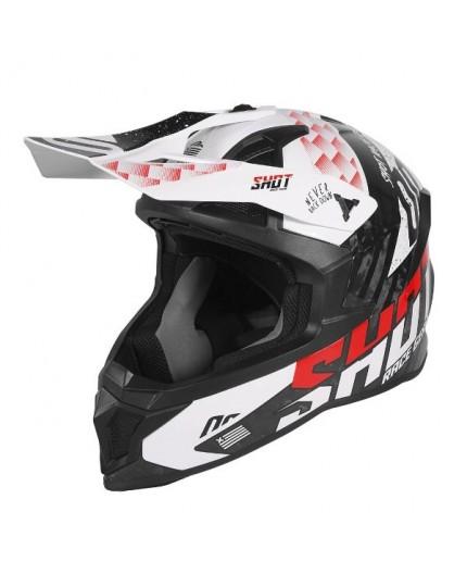 Casco integral uso Off Road, Motocross, Aventura LITE RUSH de SHOT