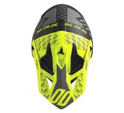 Casco integral uso Off Road, Motocross, Aventura LITE RUSH de SHOT negro y amarillo 2
