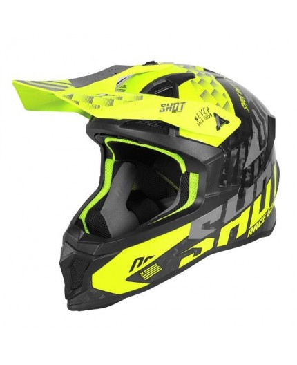 Casco integral uso Off Road, Motocross, Aventura LITE RUSH de SHOT