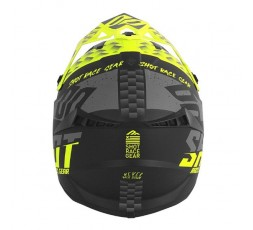 Casco integral uso Off Road, Motocross, Aventura LITE RUSH de SHOT negro y amarillo 3