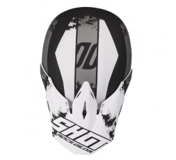 Casco integral para uso Off road, Motocross, Aventura FURIOUS SHADOW de Shot blanco 2
