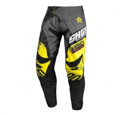 Pantalones moto uso Off Road, Motocross, Enduro, MX CONTACT REPLICA ROCKSTAR EDICION LIMITADA de Shot 1