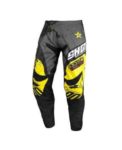 Pantalones moto uso Off Road, Motocross, Enduro, MX CONTACT REPLICA ROCKSTAR EDICION LIMITADA de Shot