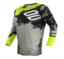 Camiseta uso Off Road, Motocross, Enduro, Aventura MX GEAR CONTACT SHADOW de Shot amarillo 1