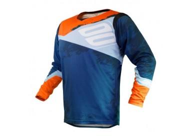 Camiseta uso Off Road, Motocross, Enduro, Aventura MX GEAR CONTACT SHADOW de Shot azul 1