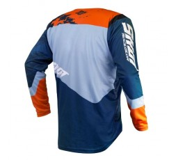 Camiseta uso Off Road, Motocross, Enduro, Aventura MX GEAR CONTACT SHADOW de Shot azul 2